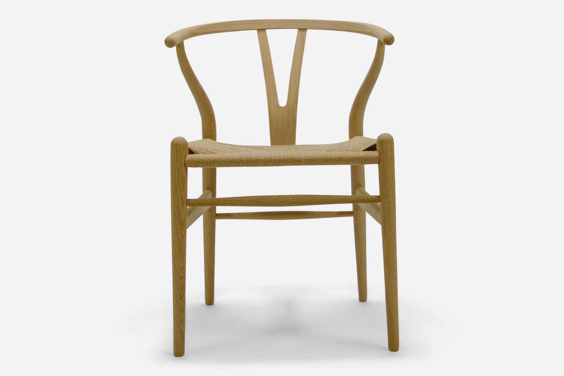 Carl Hansen & Son - Wishbone chair - soaped oak1