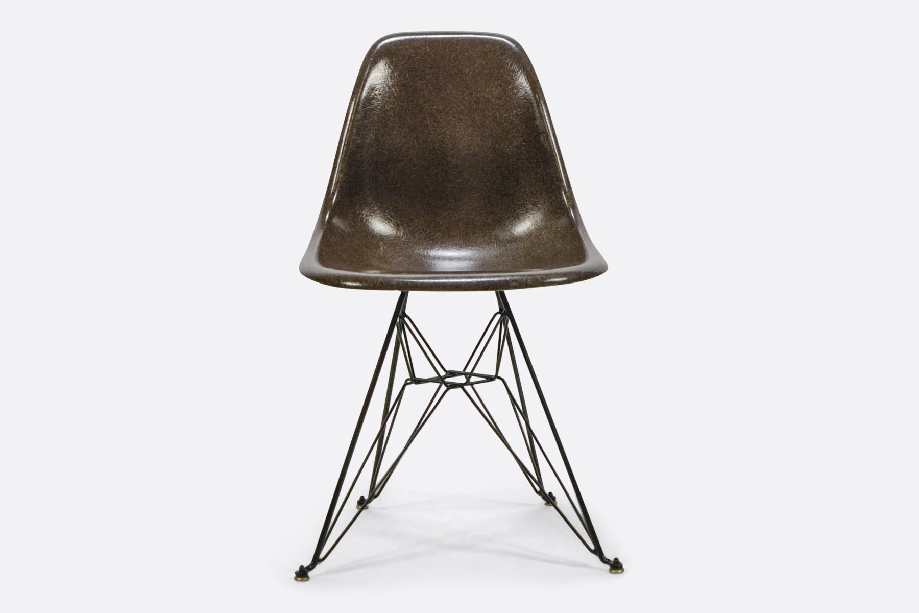 Eames DSR Seal Brown 1
