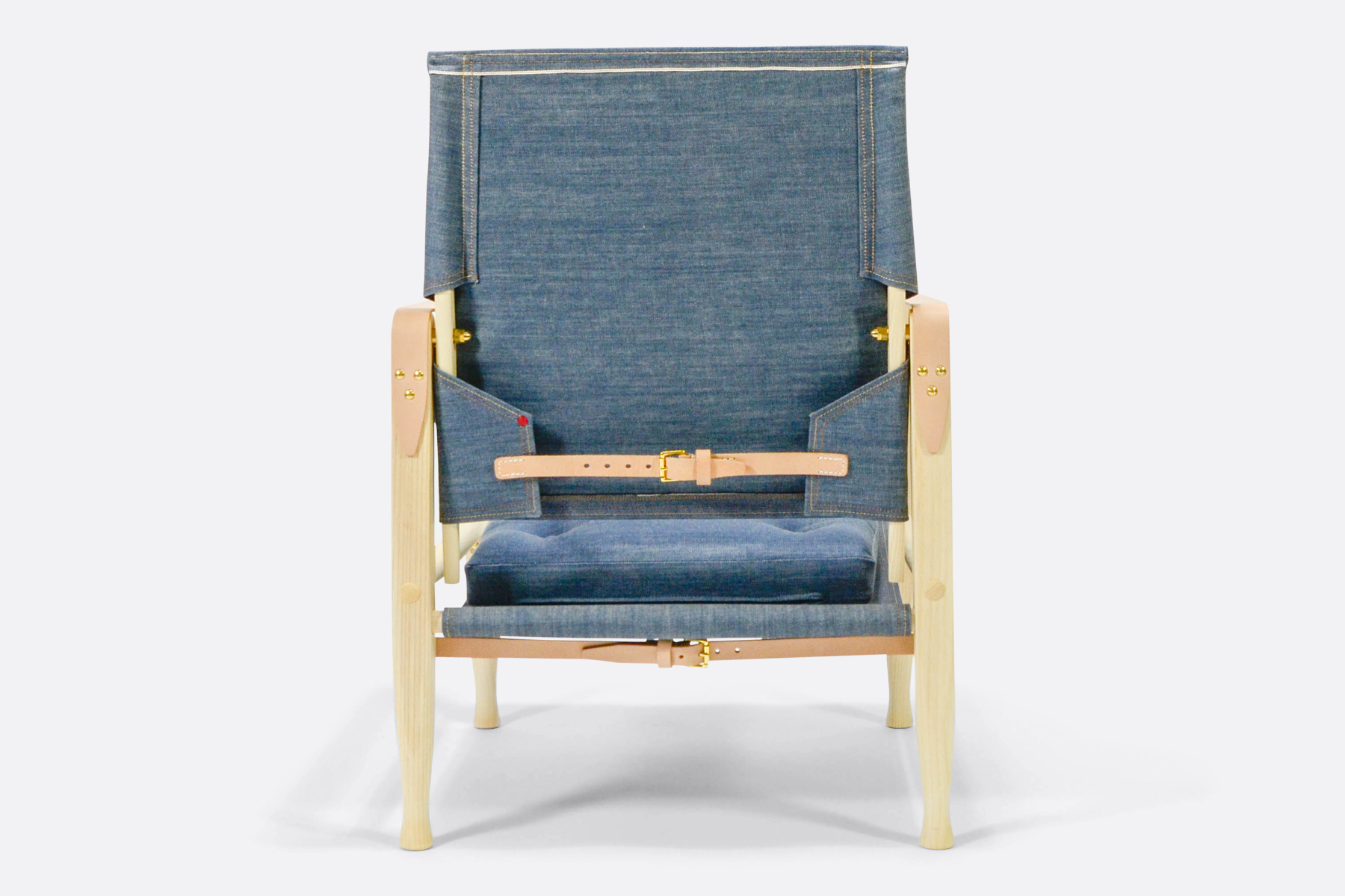 Carl Hansen safari-chair-denim-back