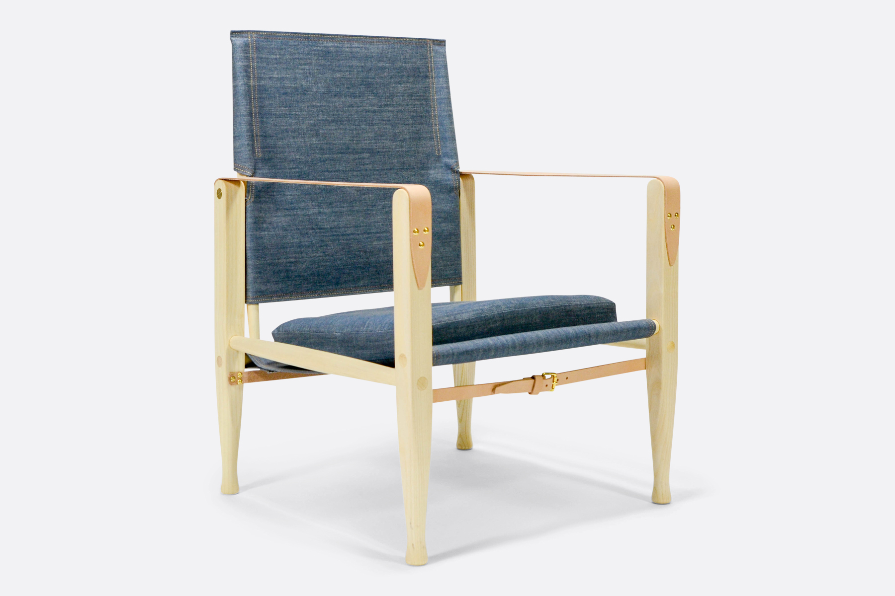Carl Hansen safari-chair-denim-dia-2