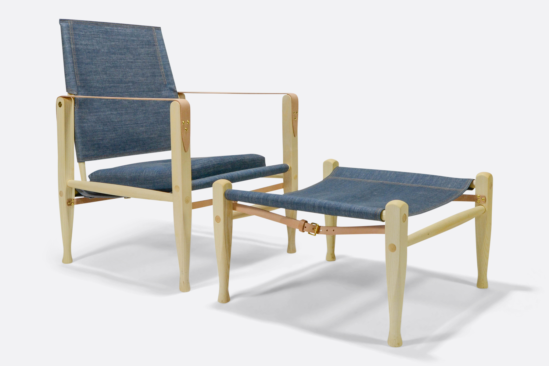 Carl Hansen safari-chair-denim-dia