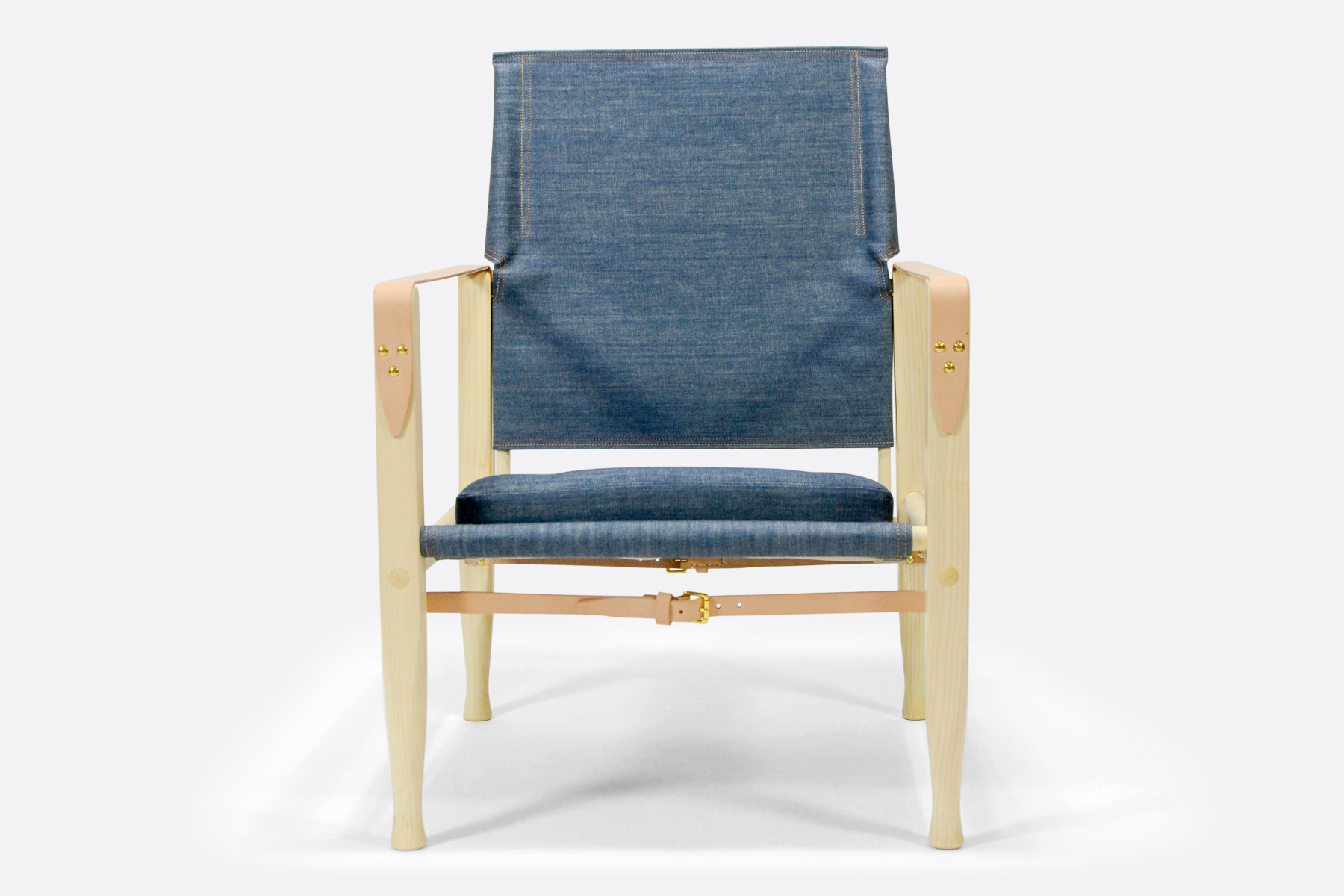 Carl Hansen safari-chair-denim-front