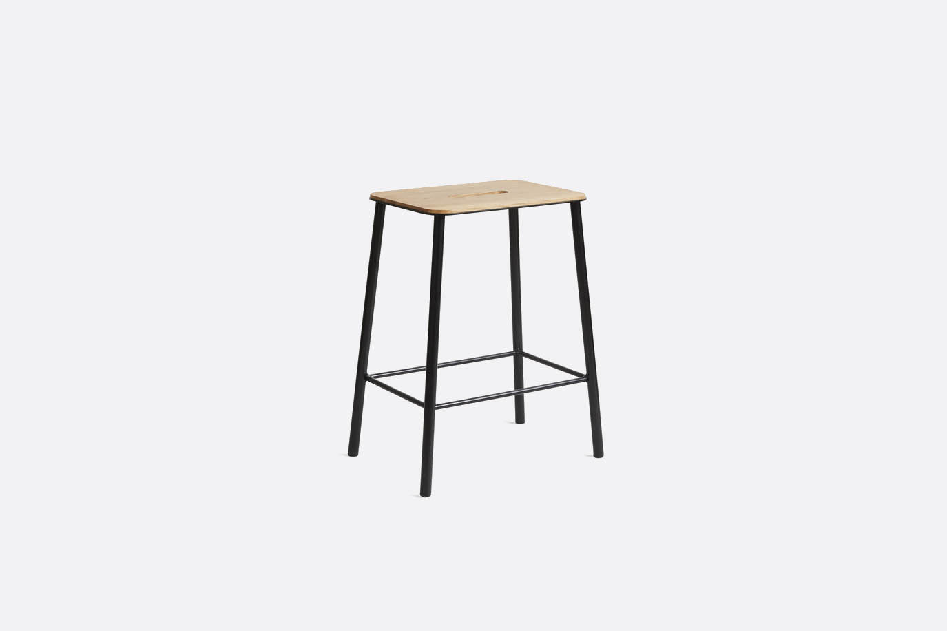 Frama - Adam Stool Oak Black H50