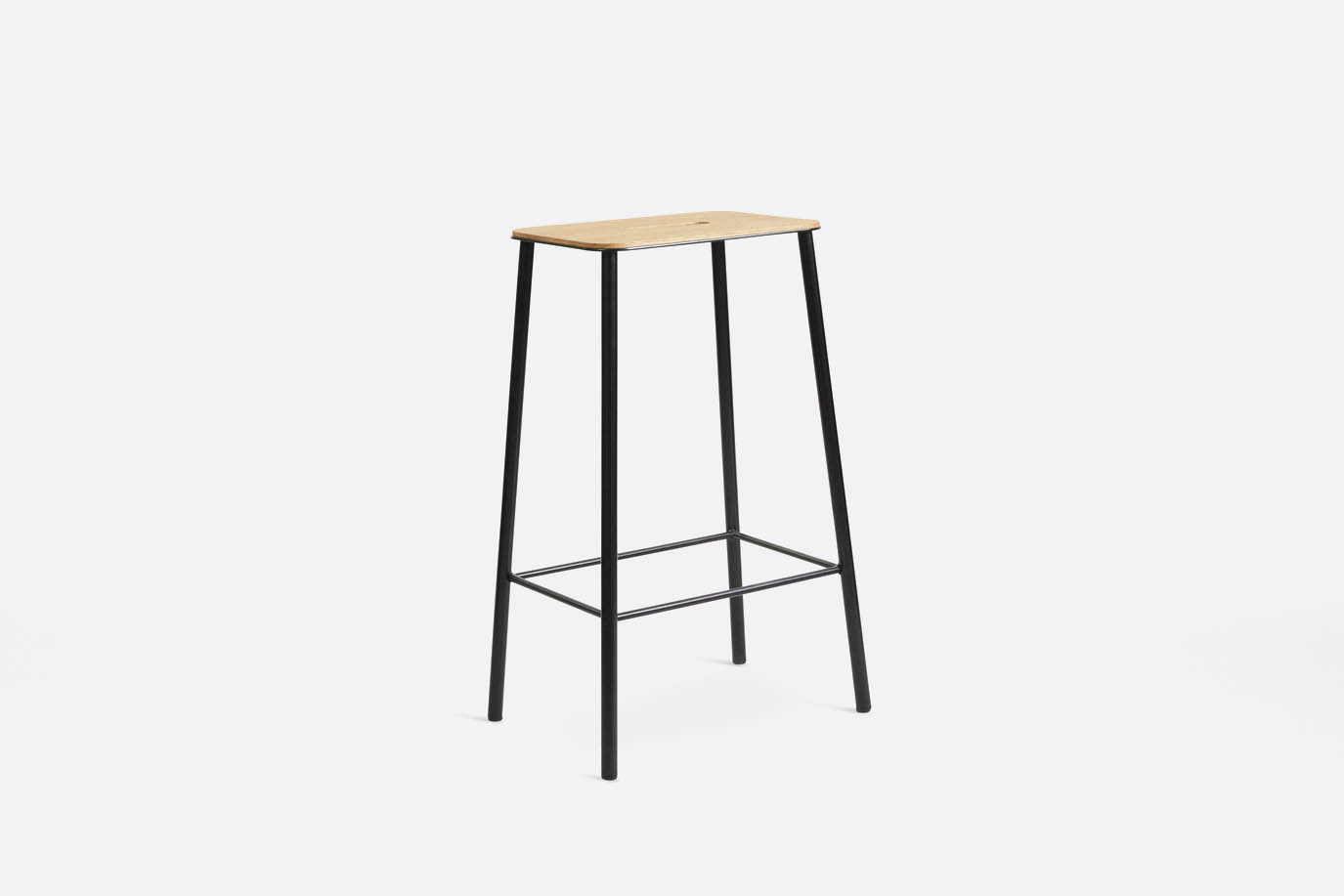 Frama - Adam Stool Oak Black H65