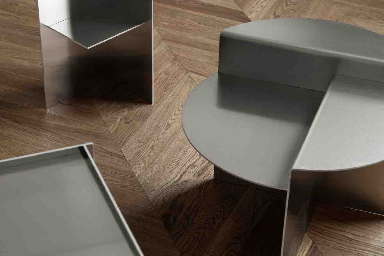 FRAMA - side tables - detail