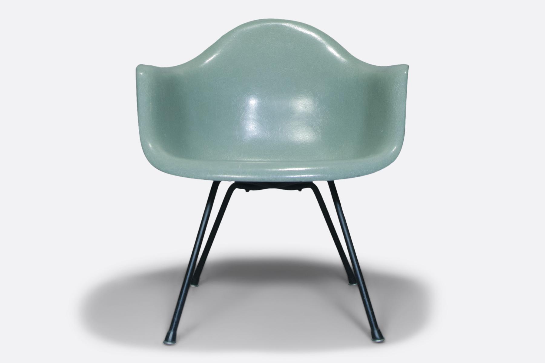 Eames armchair- seafoam green.1