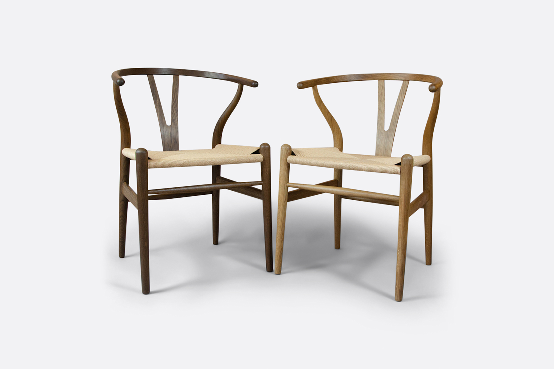 Carl Hansen Wishbone Smoked Oak