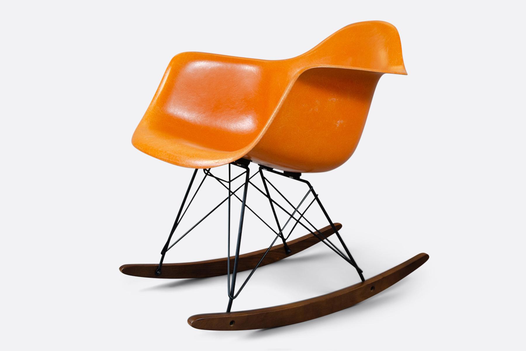 Eames Tangerine rocker