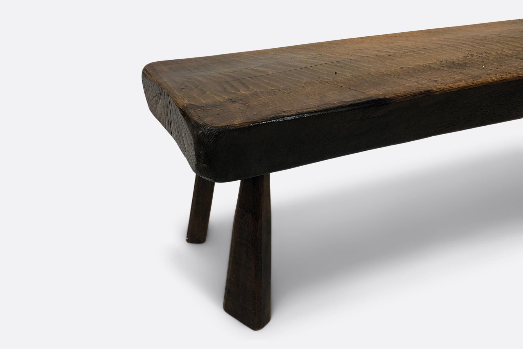 Brutalist bench vintage
